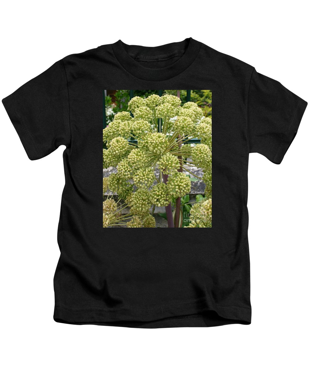 Angelica Kids T-Shirt featuring the photograph Angelica by Christiane Schulze Art And Photography