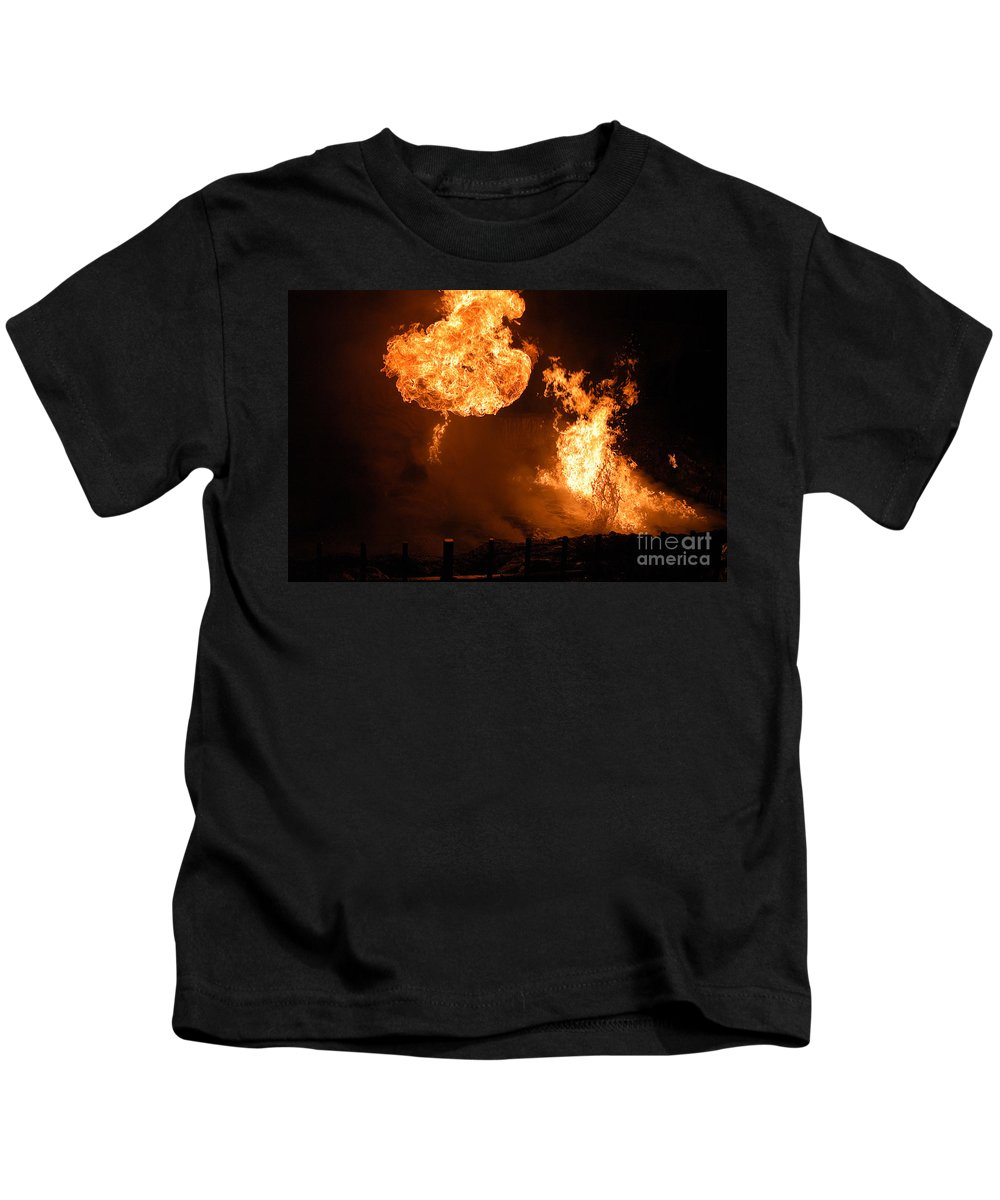 Clay Kids T-Shirt featuring the photograph Angry Face by Clayton Bruster