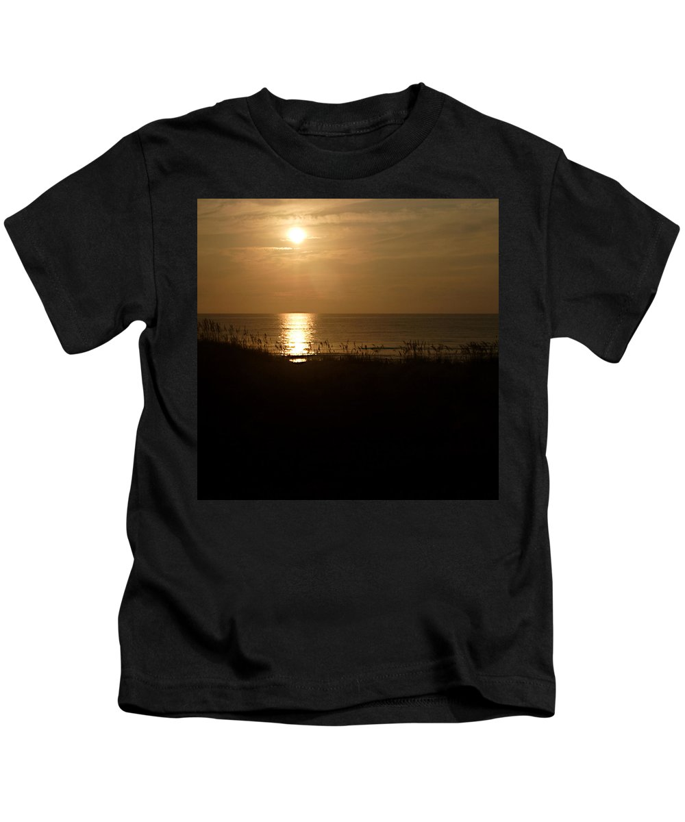 Color Kids T-Shirt featuring the photograph Another Day Ends by Jean Macaluso