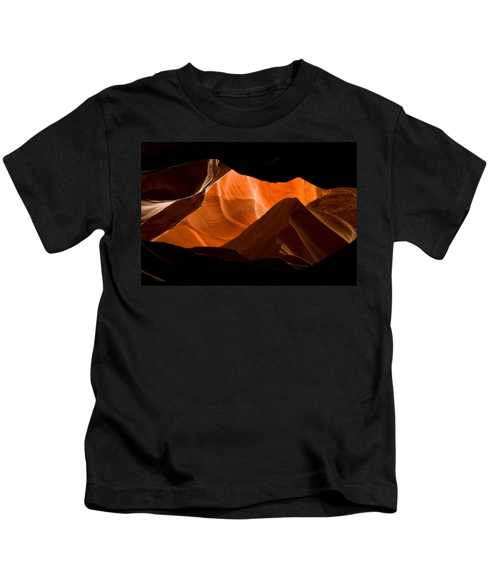 3scape Photos Kids T-Shirt featuring the photograph Antelope No 2 by Adam Romanowicz
