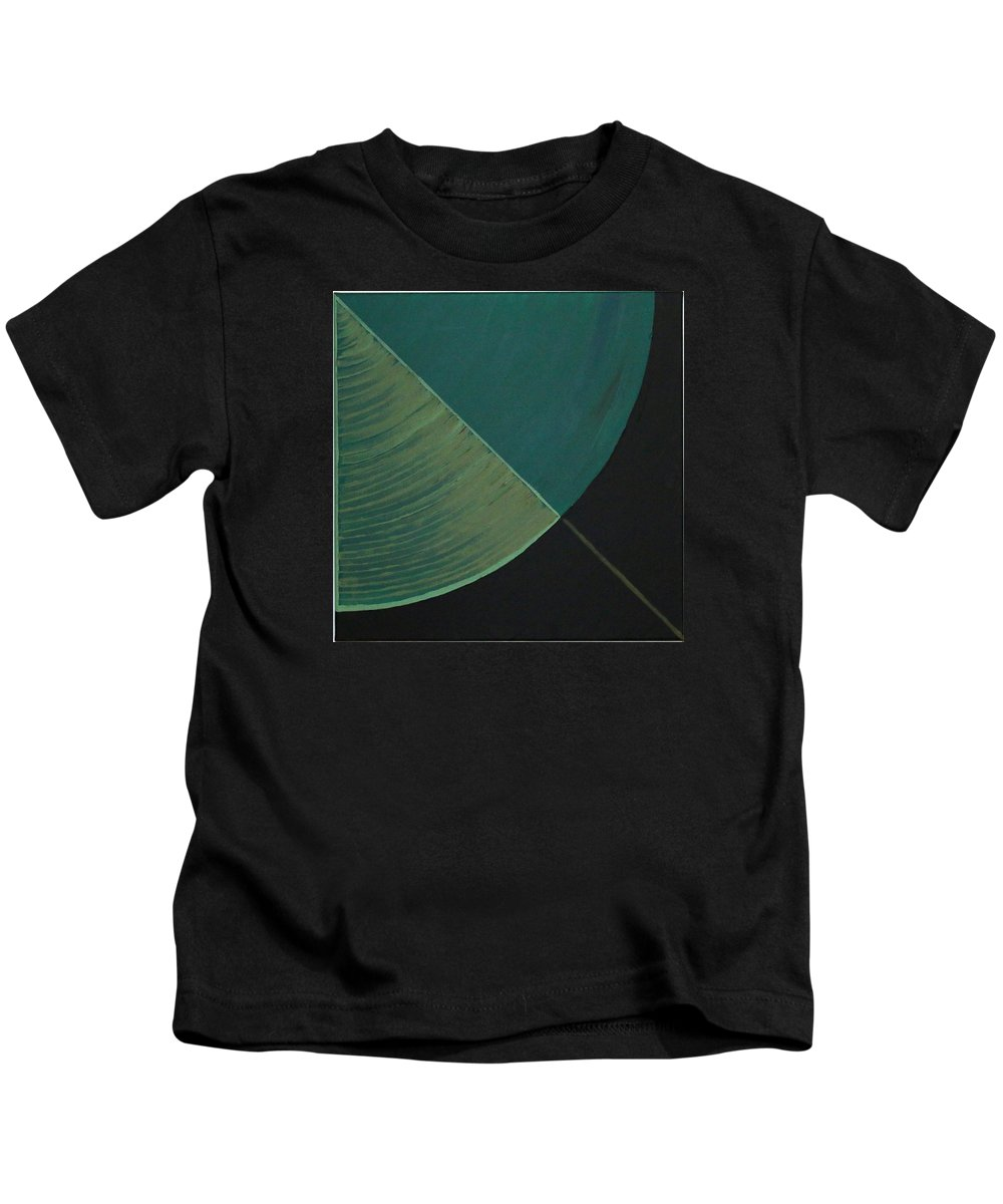 Landscape Kids T-Shirt featuring the painting Aquifer # 12 by Jonathan Perlstein
