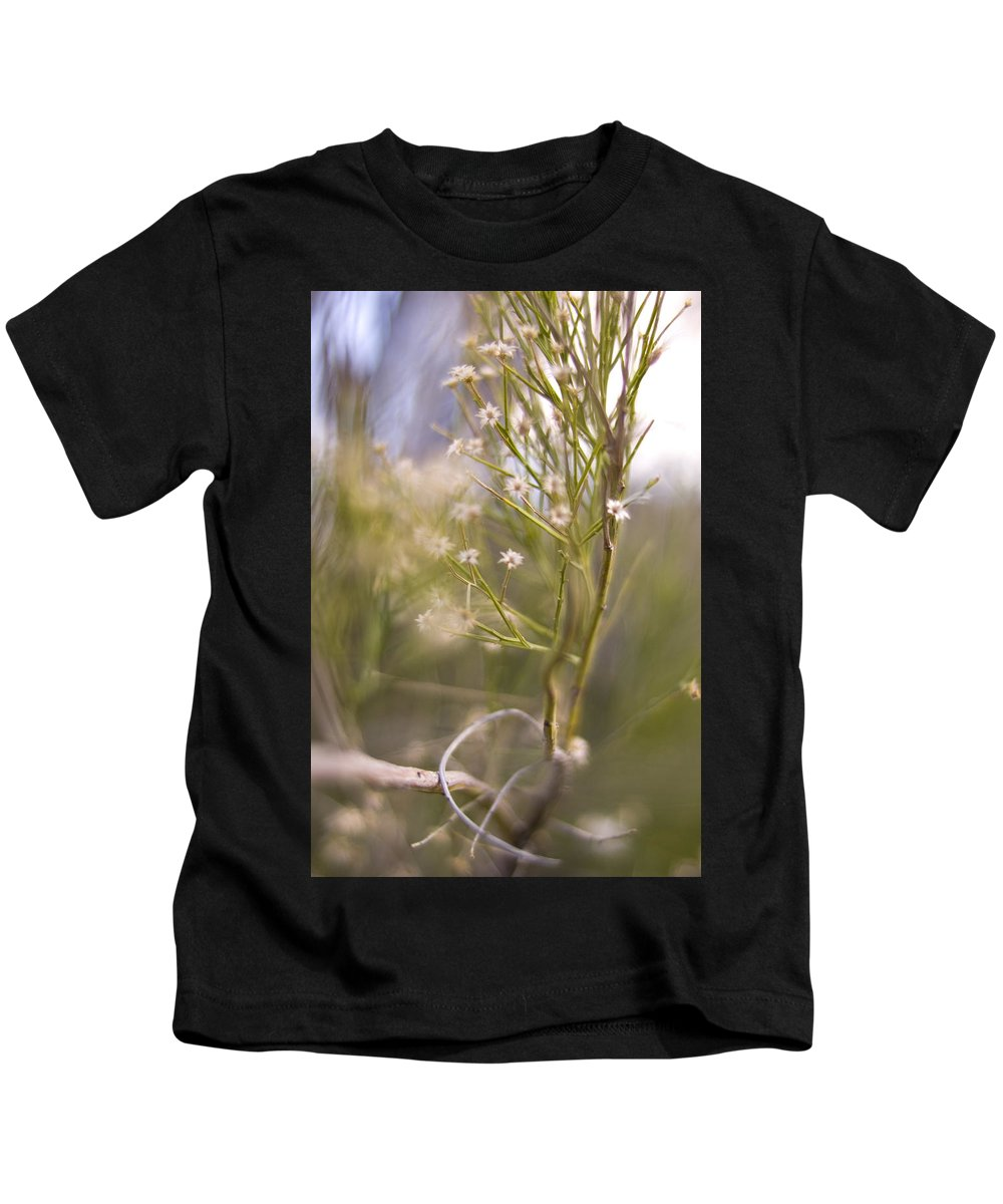 Weed Kids T-Shirt featuring the photograph Archer's Bouquet by Michael Theophan Lujan