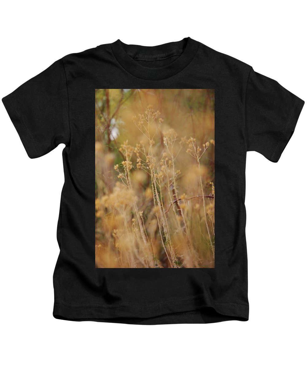 Weed Kids T-Shirt featuring the photograph Arizona Palette by Michael Theophan Lujan