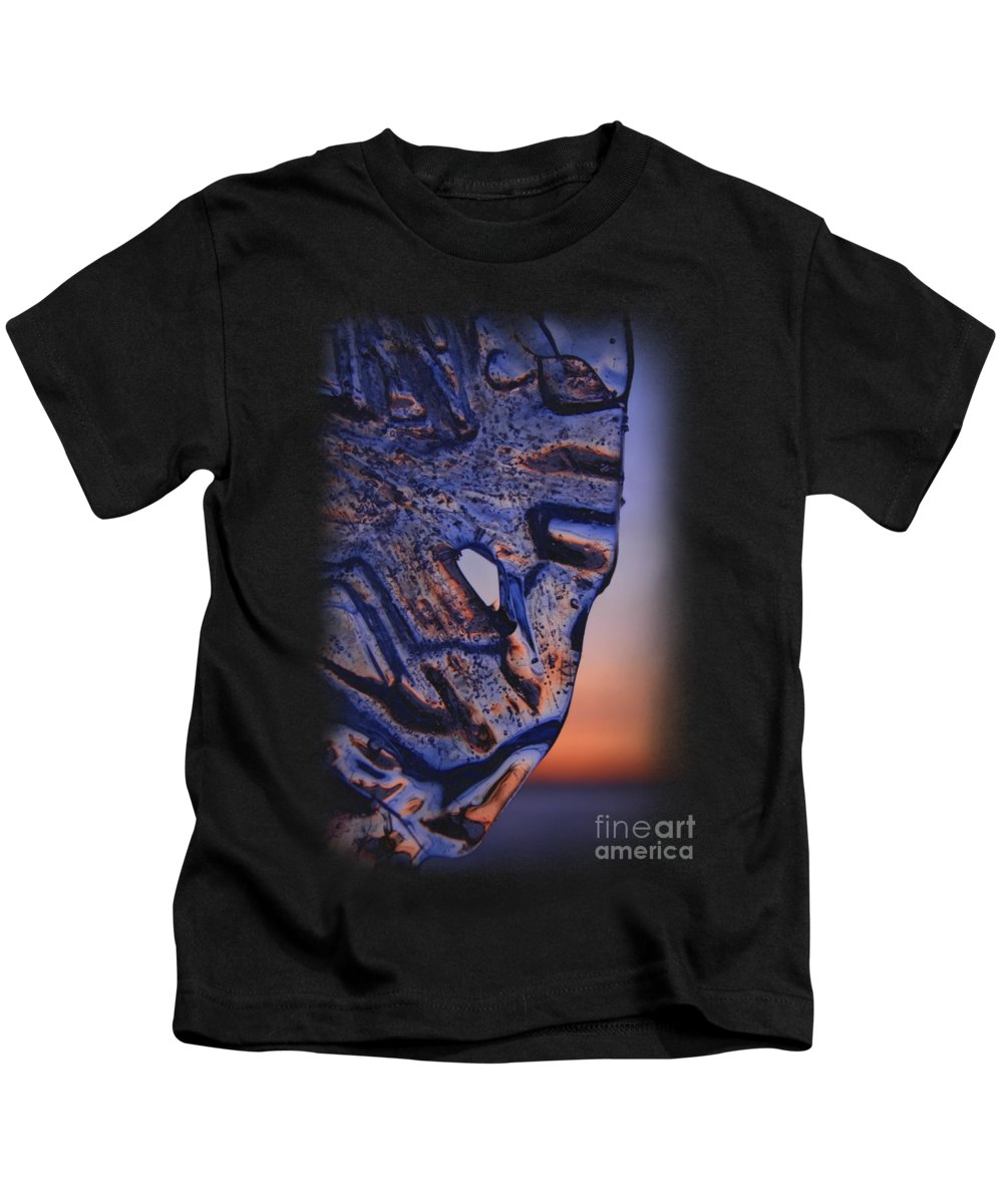 Enjoying Sunset Kids T-Shirt featuring the photograph Ice Lord by Sami Tiainen
