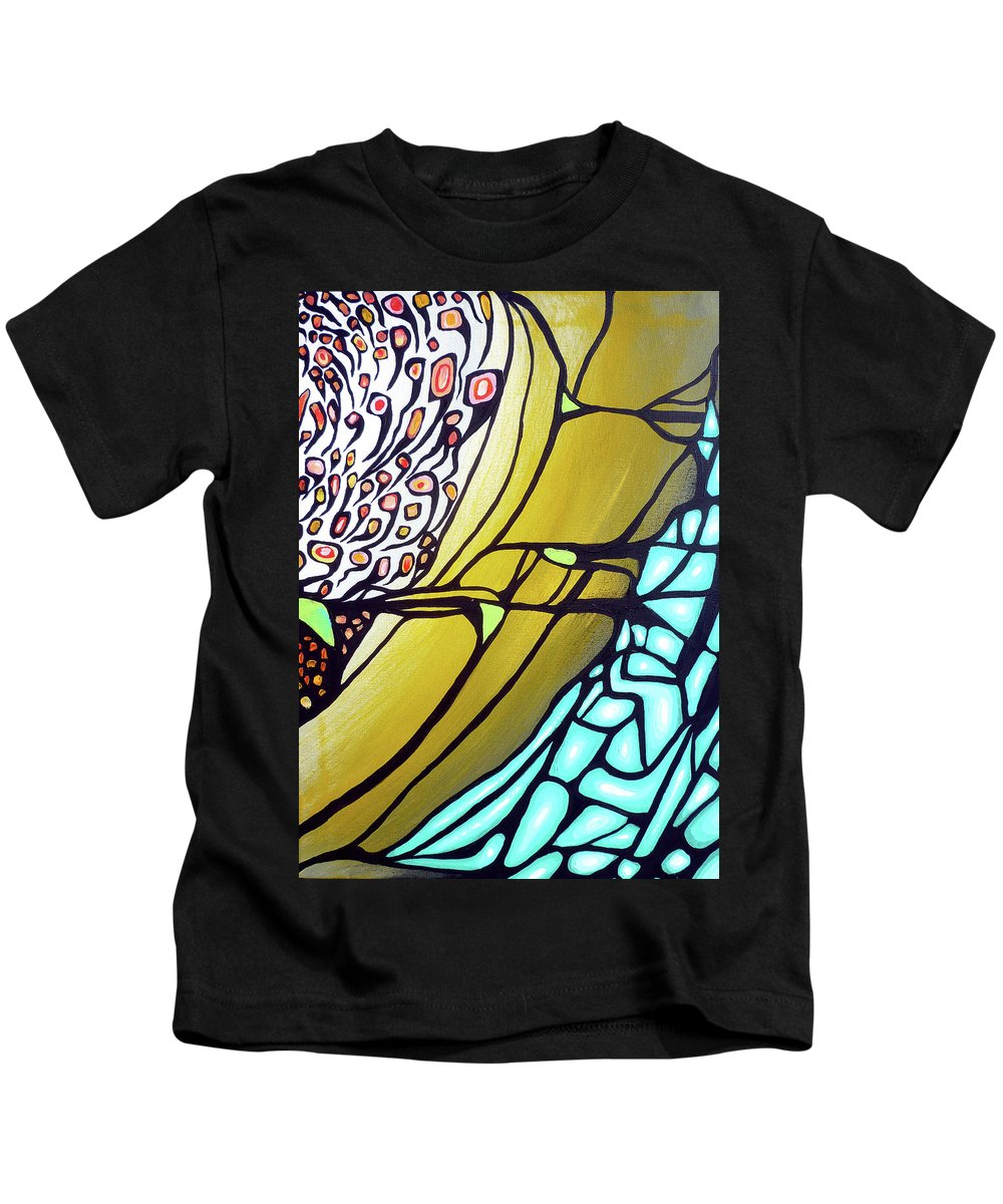 Color Kids T-Shirt featuring the painting Ascension by Larry Calabrese