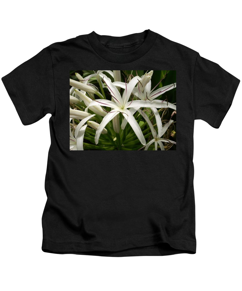 Flower Kids T-Shirt featuring the photograph Asiatic Poison Lily by Amy Fose