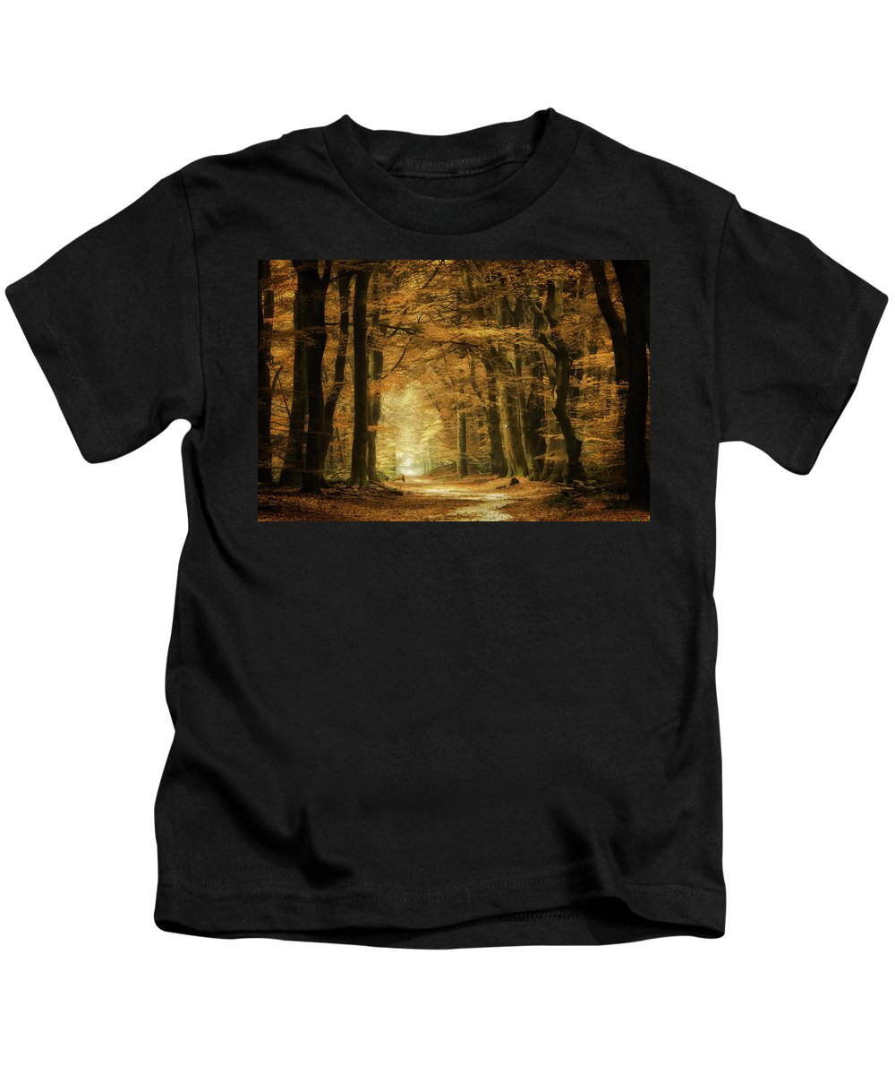 Kids T-Shirt featuring the photograph B3 by Martin Podt