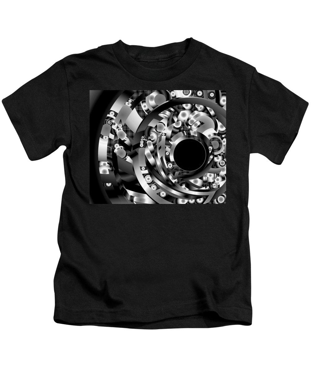 Fantasy Kids T-Shirt featuring the digital art Babel by Lynda Lehmann