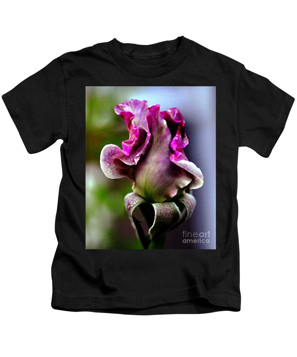 Clay Kids T-Shirt featuring the photograph Baby Bud by Clayton Bruster