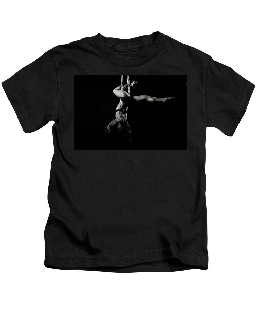 Fitness Kids T-Shirt featuring the photograph Balance Of Power 16 by Monte Arnold