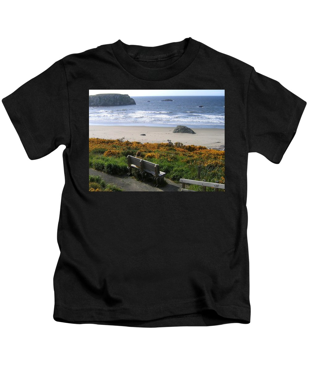 Bandon Kids T-Shirt featuring the photograph Bandon 6 by Will Borden