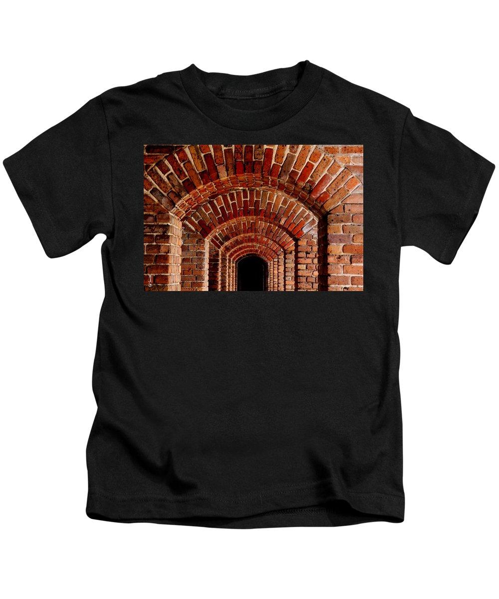 Beautiful Brick Kids T-Shirt featuring the photograph Beautiful Brick by Edward Smith