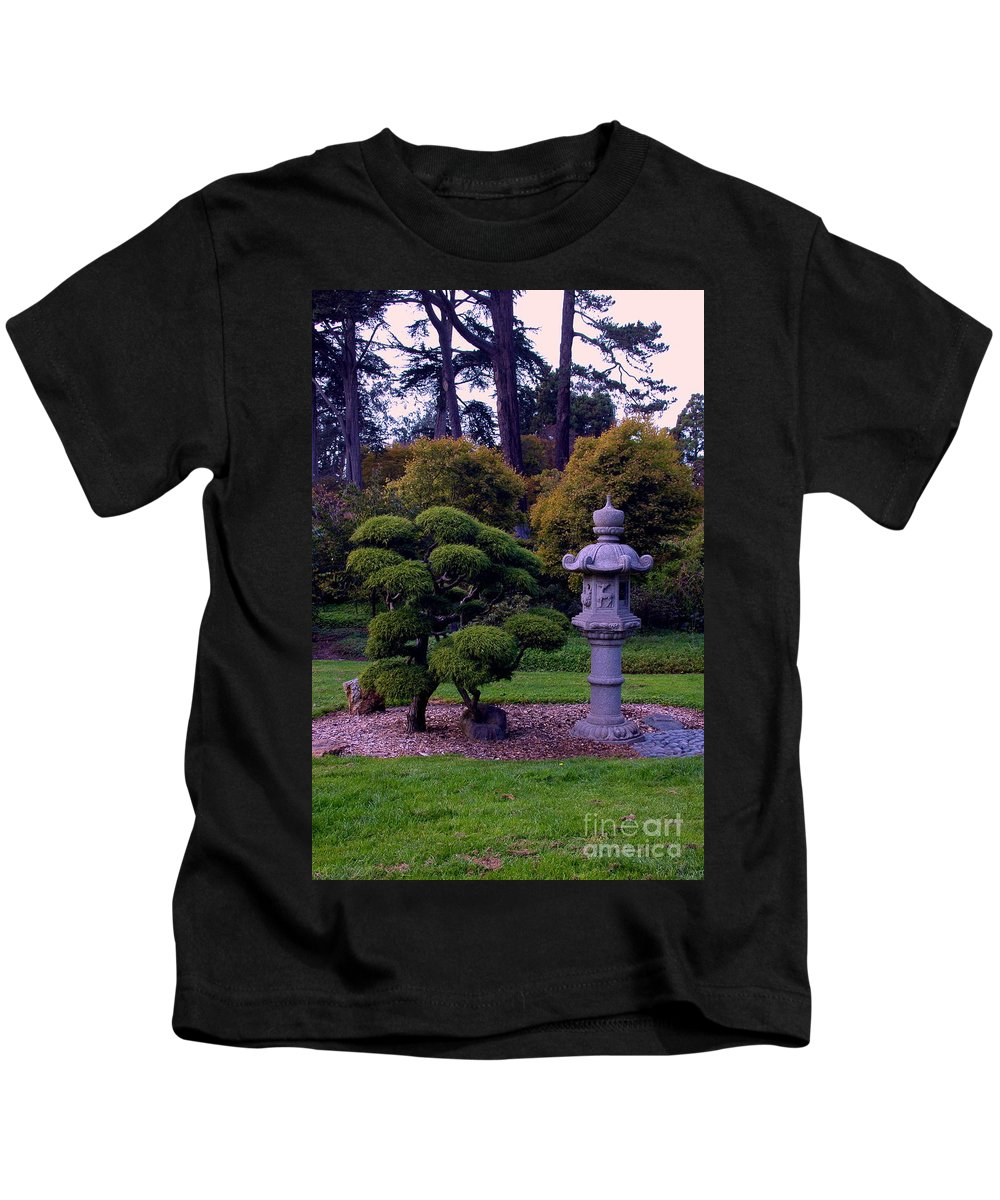 Japanese Kids T-Shirt featuring the photograph Beautiful Gardens by Kathleen Struckle