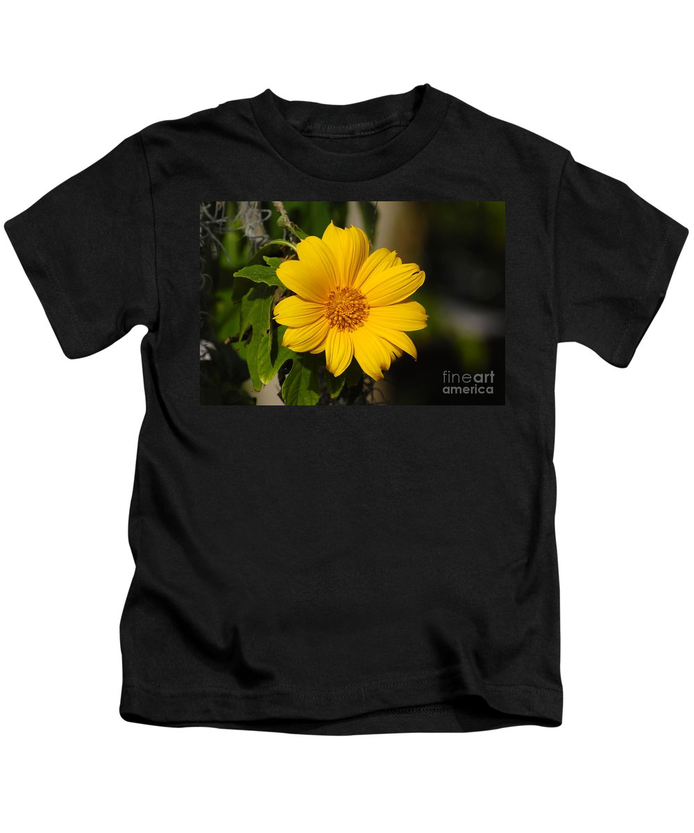 Yellow Kids T-Shirt featuring the photograph Beautiful In Yellow by David Lee Thompson