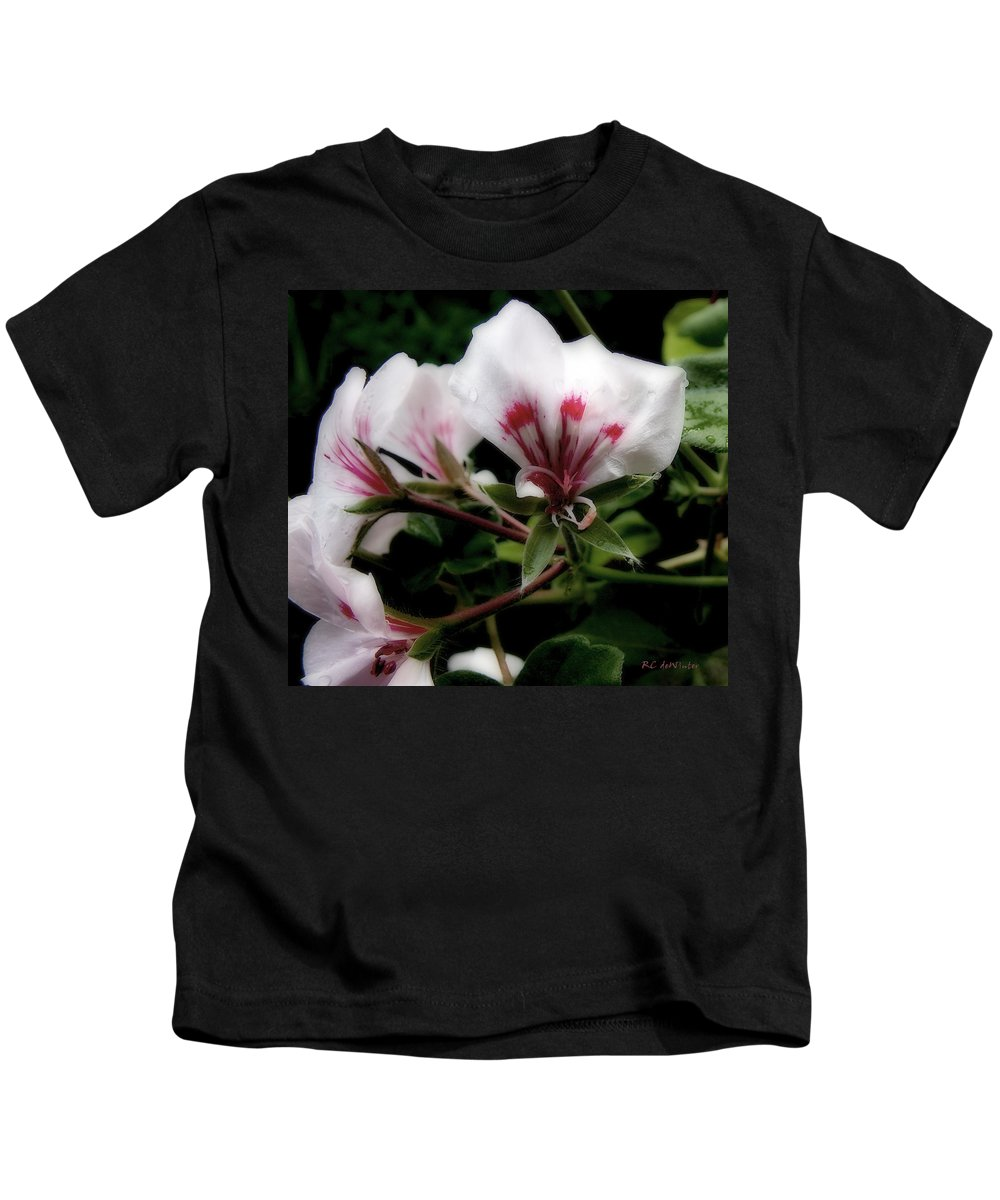 Cherry Kids T-Shirt featuring the photograph Bejewelled by RC DeWinter