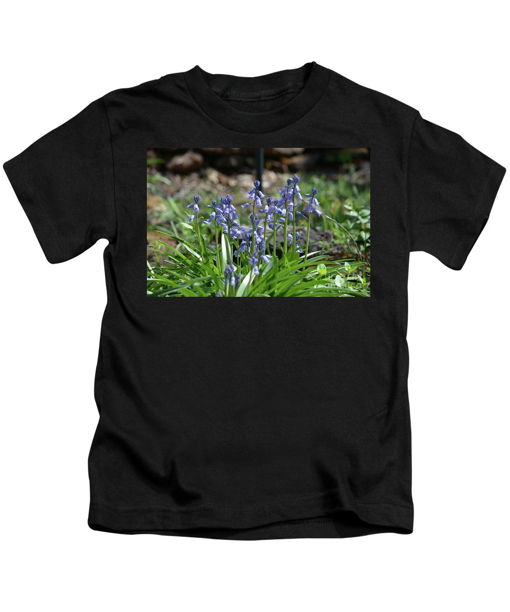 Bell Flowers Kids T-Shirt featuring the photograph Bell Flowers by Ruth Housley