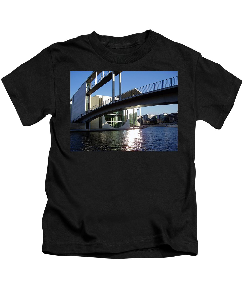 Marie-elisabeth-lueders Kids T-Shirt featuring the photograph Berlin by Flavia Westerwelle