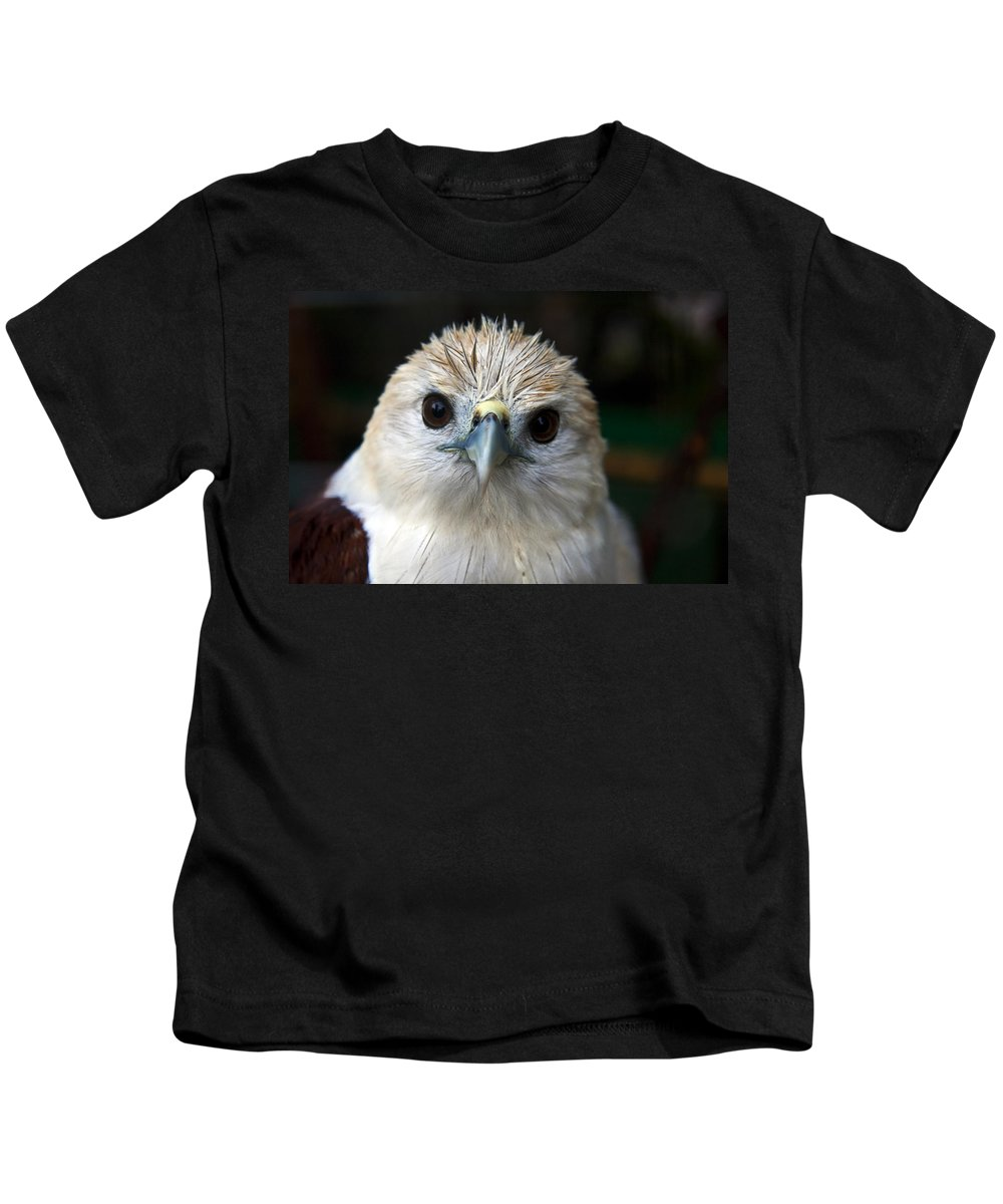 Bird Kids T-Shirt featuring the photograph Bird by George Cabig