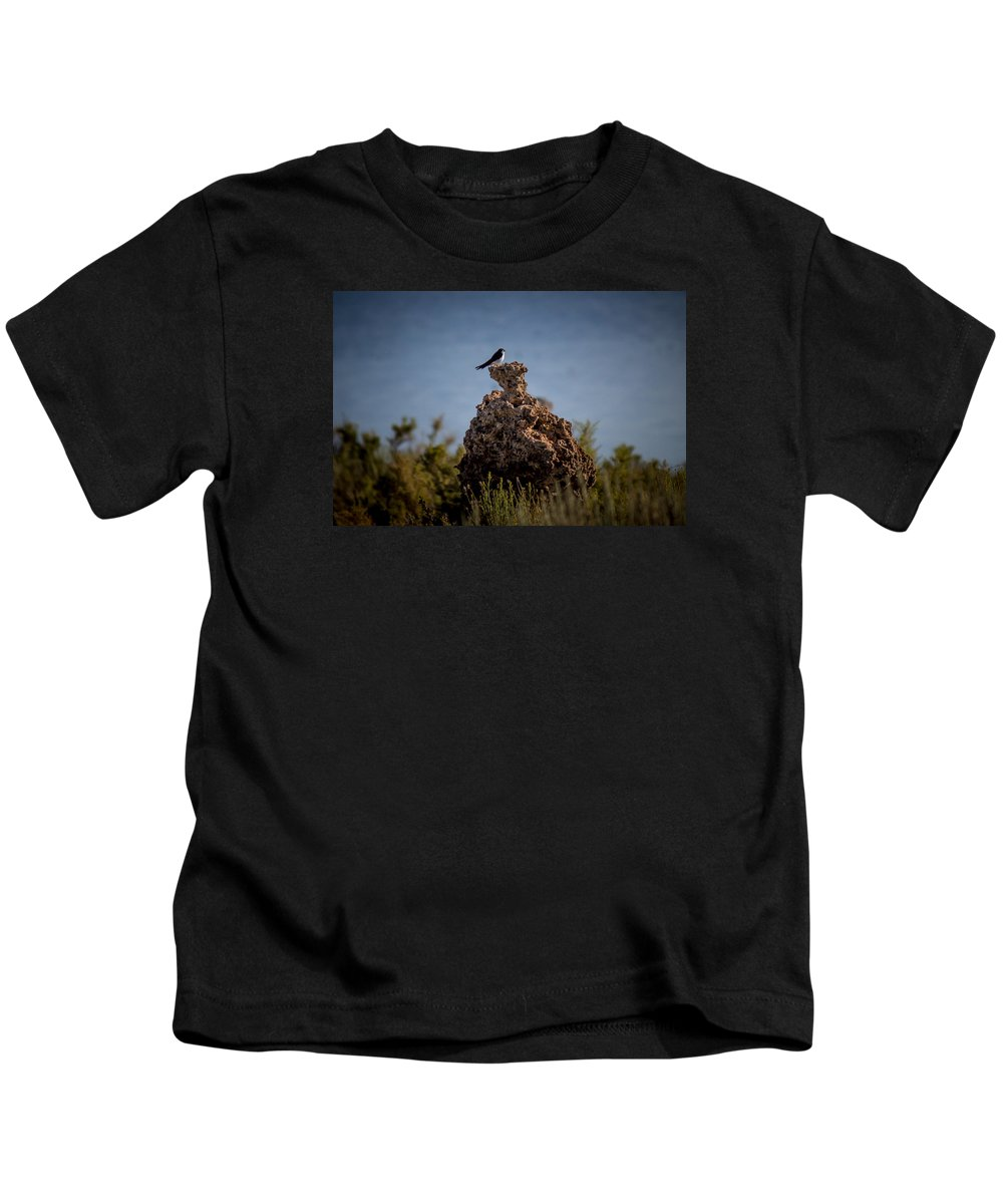 Kids T-Shirt featuring the photograph Bird by Reed Tim