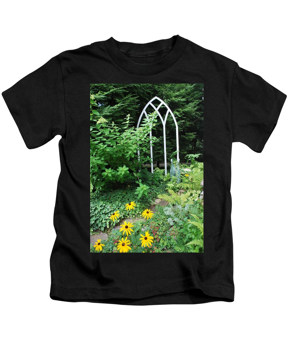 Landscape Kids T-Shirt featuring the photograph Blackeyed Susan Garden by Eileen Marie Ardillo