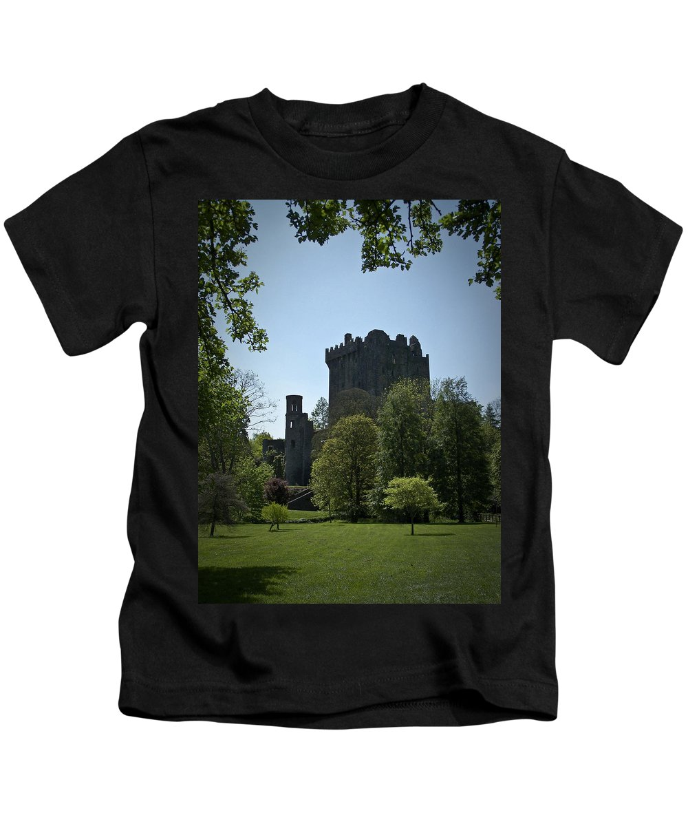 Irish Kids T-Shirt featuring the photograph Blarney Castle Ireland by Teresa Mucha