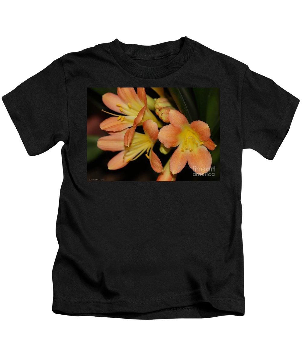 Flowers Kids T-Shirt featuring the photograph Blast Of Sunshine by Deborah Benoit