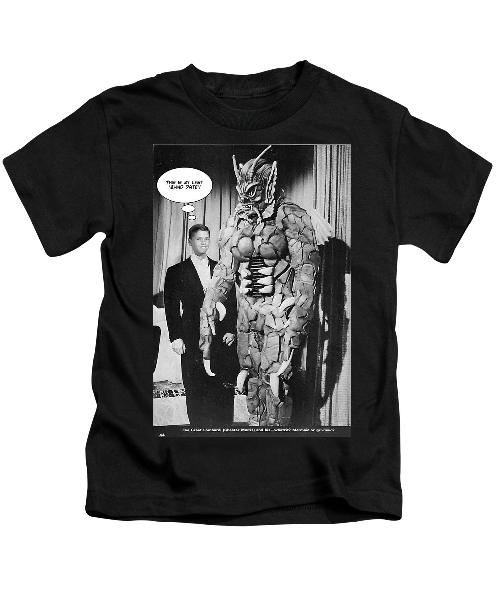 2d Kids T-Shirt featuring the photograph Blind Date by Brian Wallace