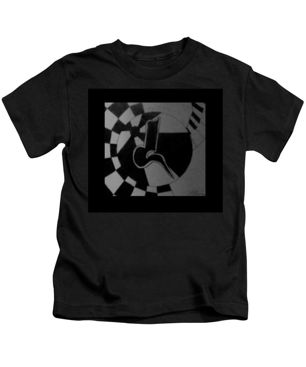 Abstract Kids T-Shirt featuring the photograph Blondeass Sunshine by Rob Hans