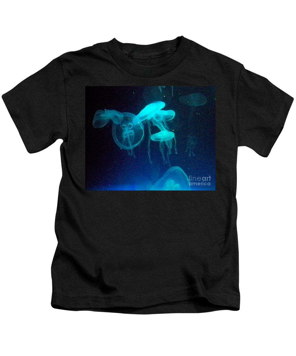 Florida Kids T-Shirt featuring the photograph Blue Monsters by Chris Andruskiewicz