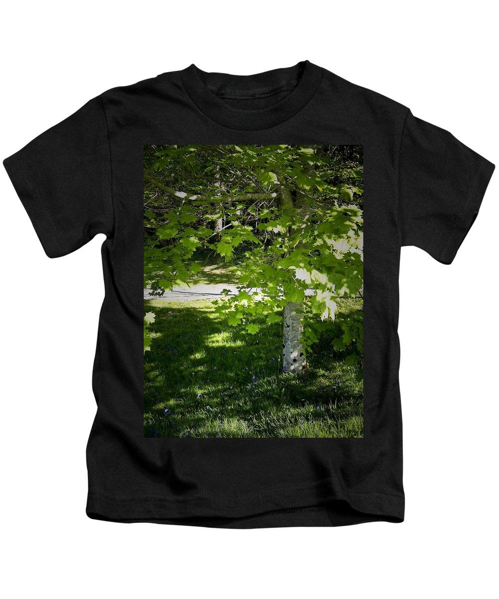 Irish Kids T-Shirt featuring the photograph Bluebells In Killarney National Park Ireland by Teresa Mucha