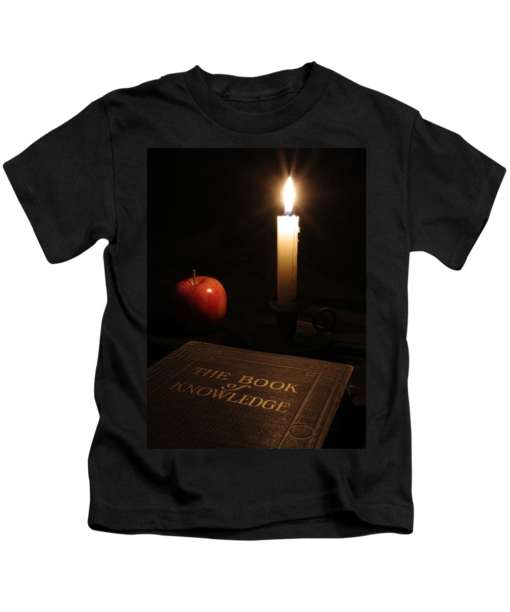 Book Of Knowledge Kids T-Shirt featuring the photograph Book Of Knowledge by Richard Rizzo