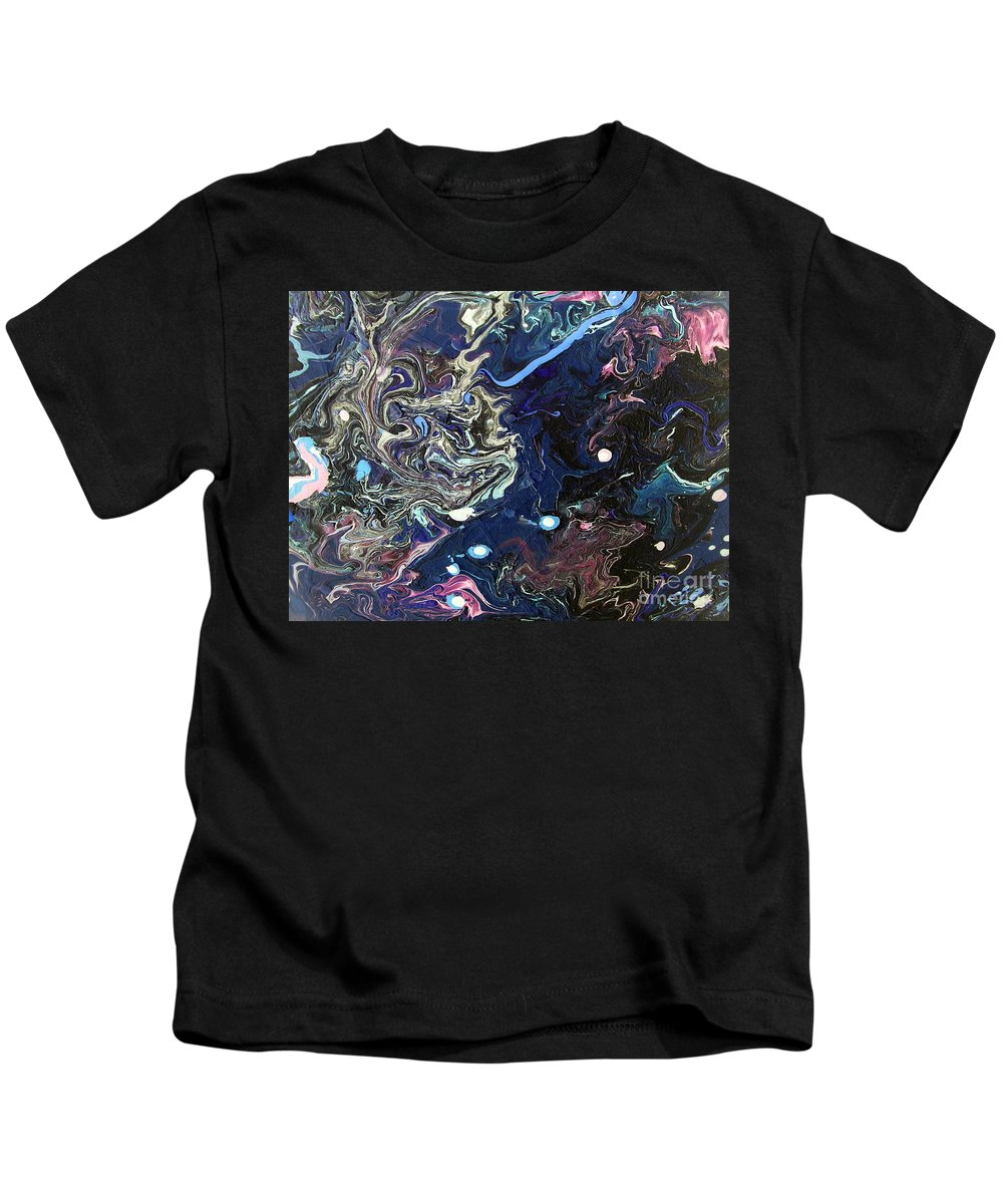 Brace Yourself Kids T-Shirt featuring the painting Brace Yourself by Dawn Hough Sebaugh