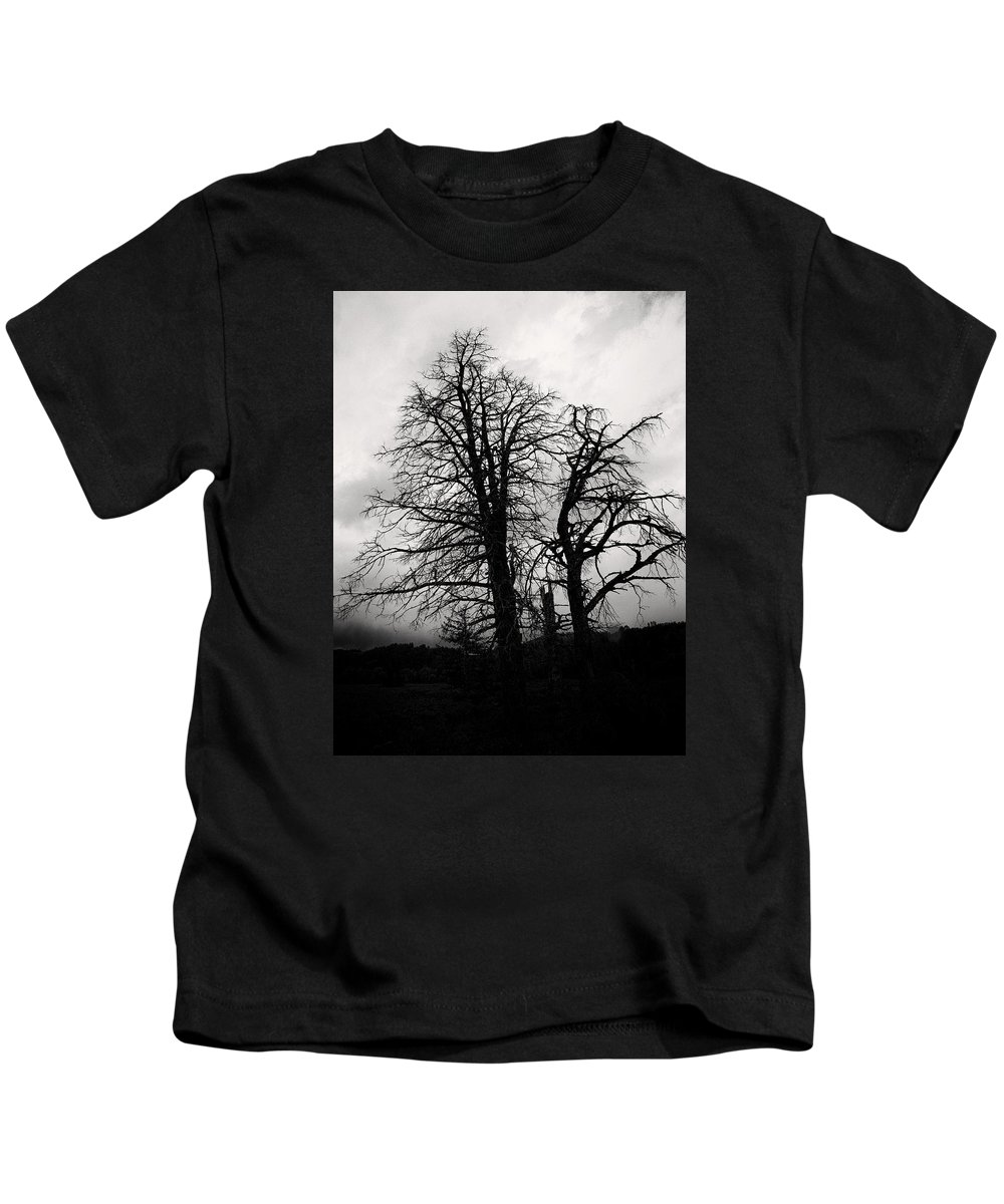 Tree Kids T-Shirt featuring the photograph Branches by Claudia Daniels