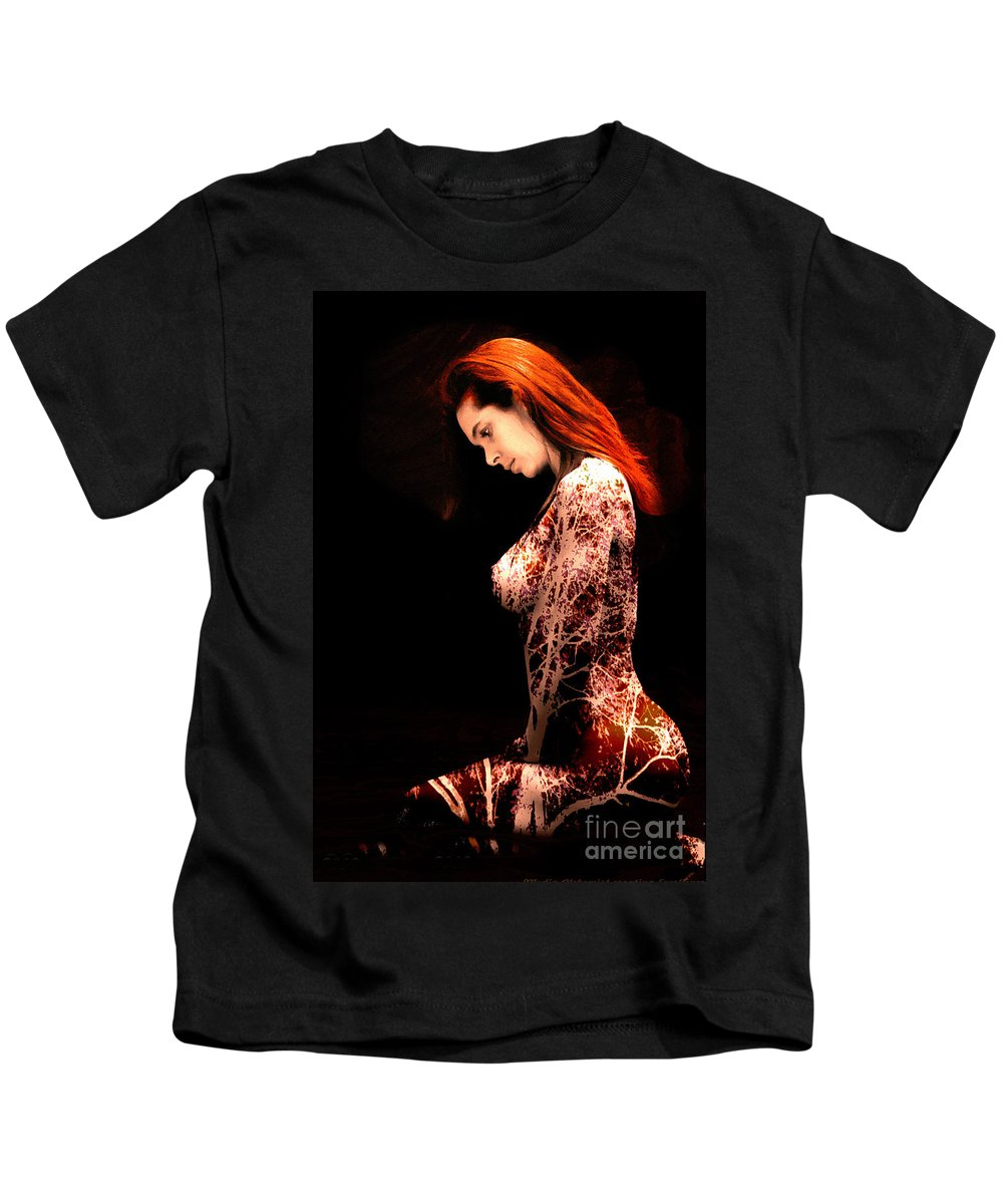 Clay Kids T-Shirt featuring the photograph Branching Out by Clayton Bruster
