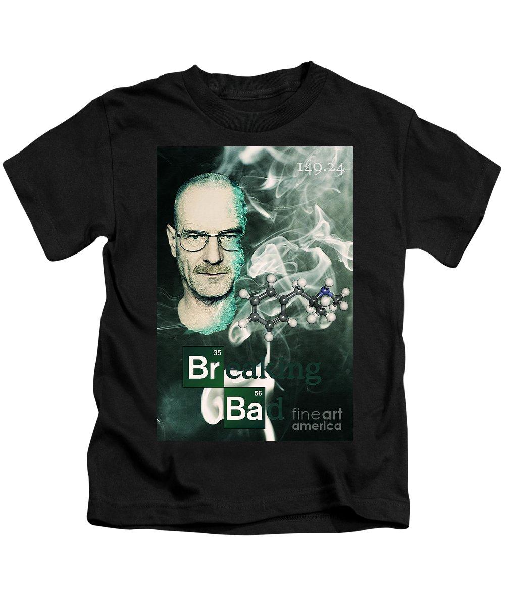 Breaking Bad Kids T-Shirt featuring the photograph Breaking Bad by Binka Kirova