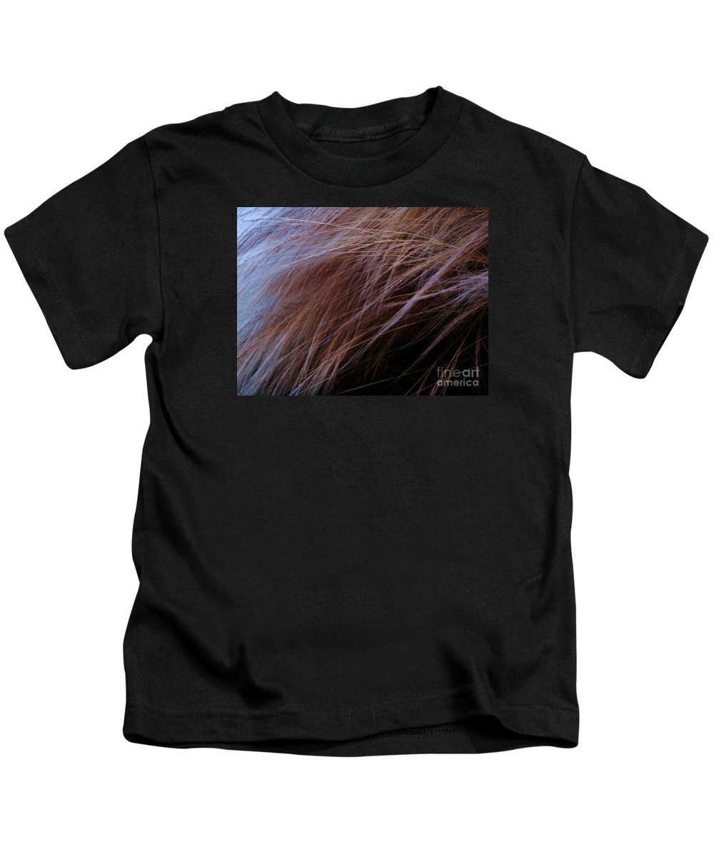 Grass Kids T-Shirt featuring the photograph Breeze by Vanessa Palomino
