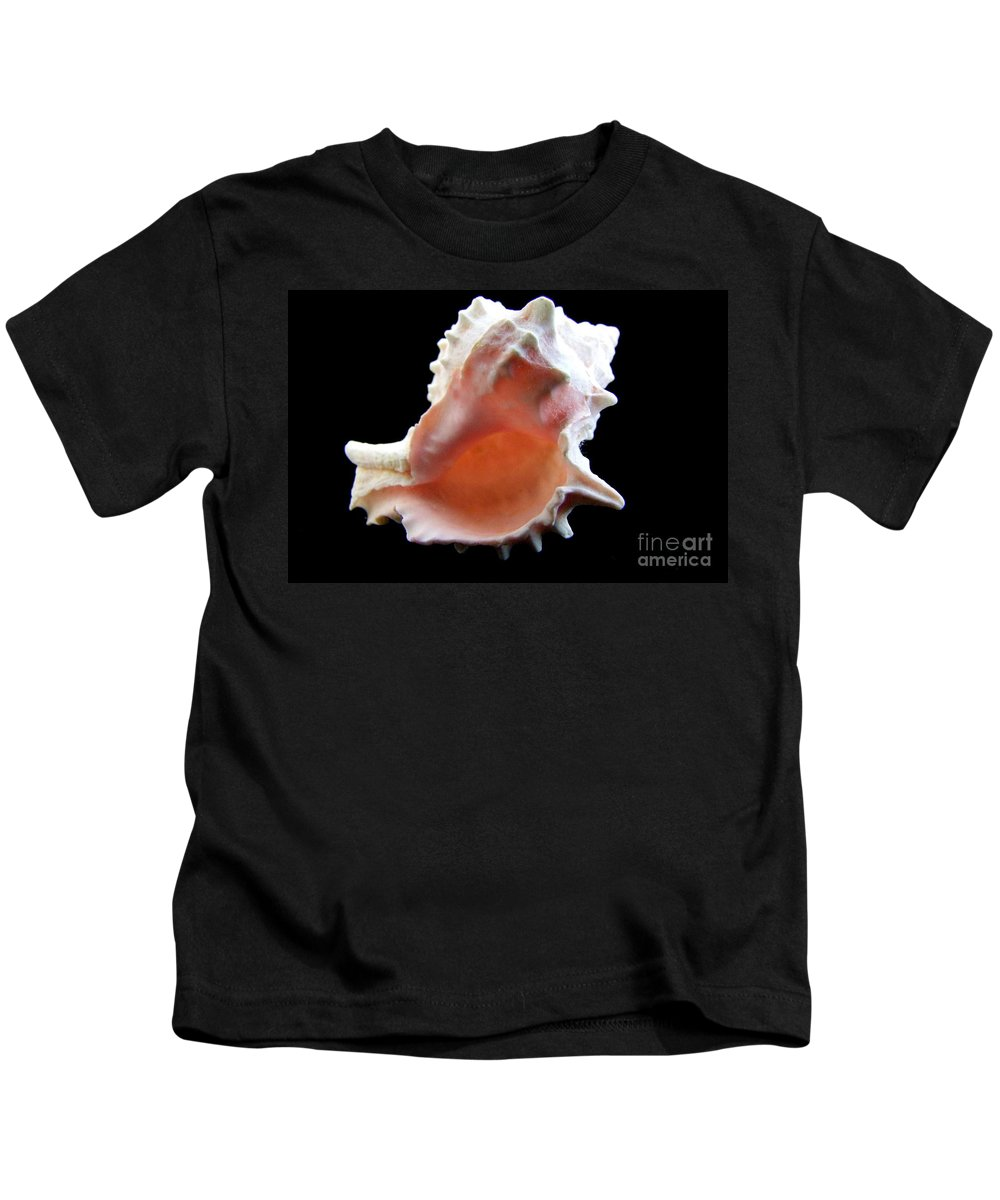 Mary Deal Kids T-Shirt featuring the photograph Brilliant Drupe by Mary Deal