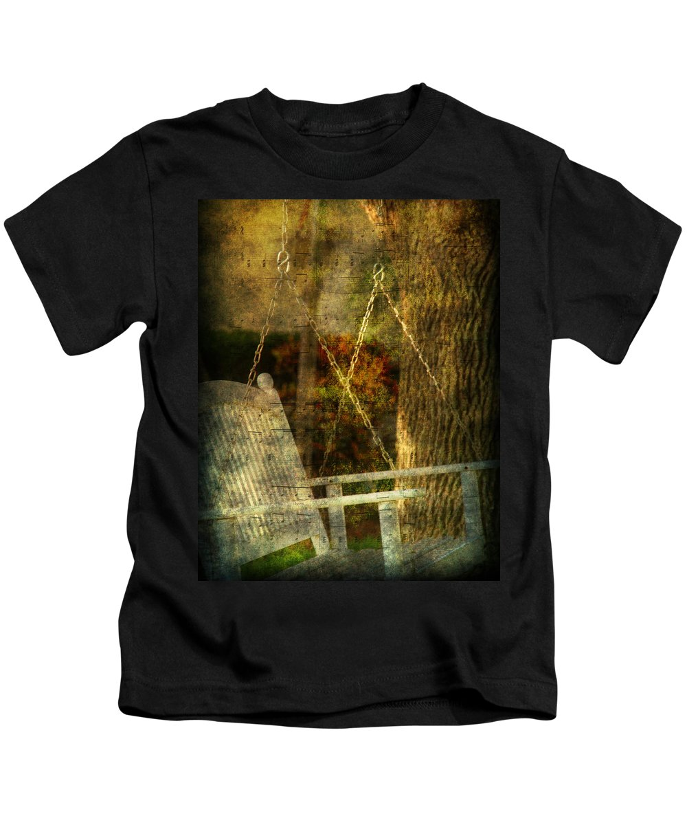 Swing Kids T-Shirt featuring the photograph Bring Back All The Memories by Susanne Van Hulst