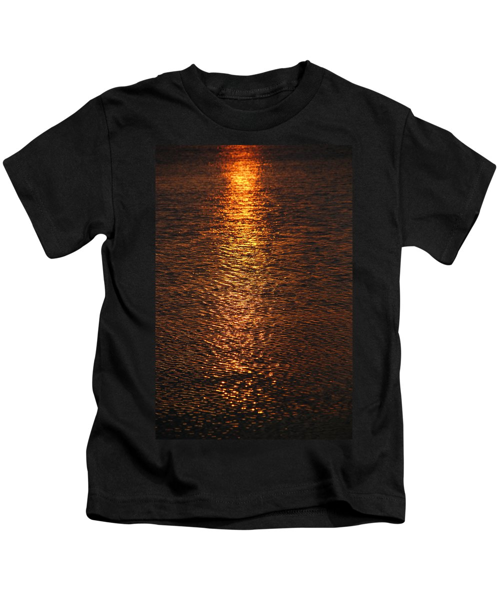 Sunset Kids T-Shirt featuring the photograph Bring Your Own Sunshine by Susanne Van Hulst