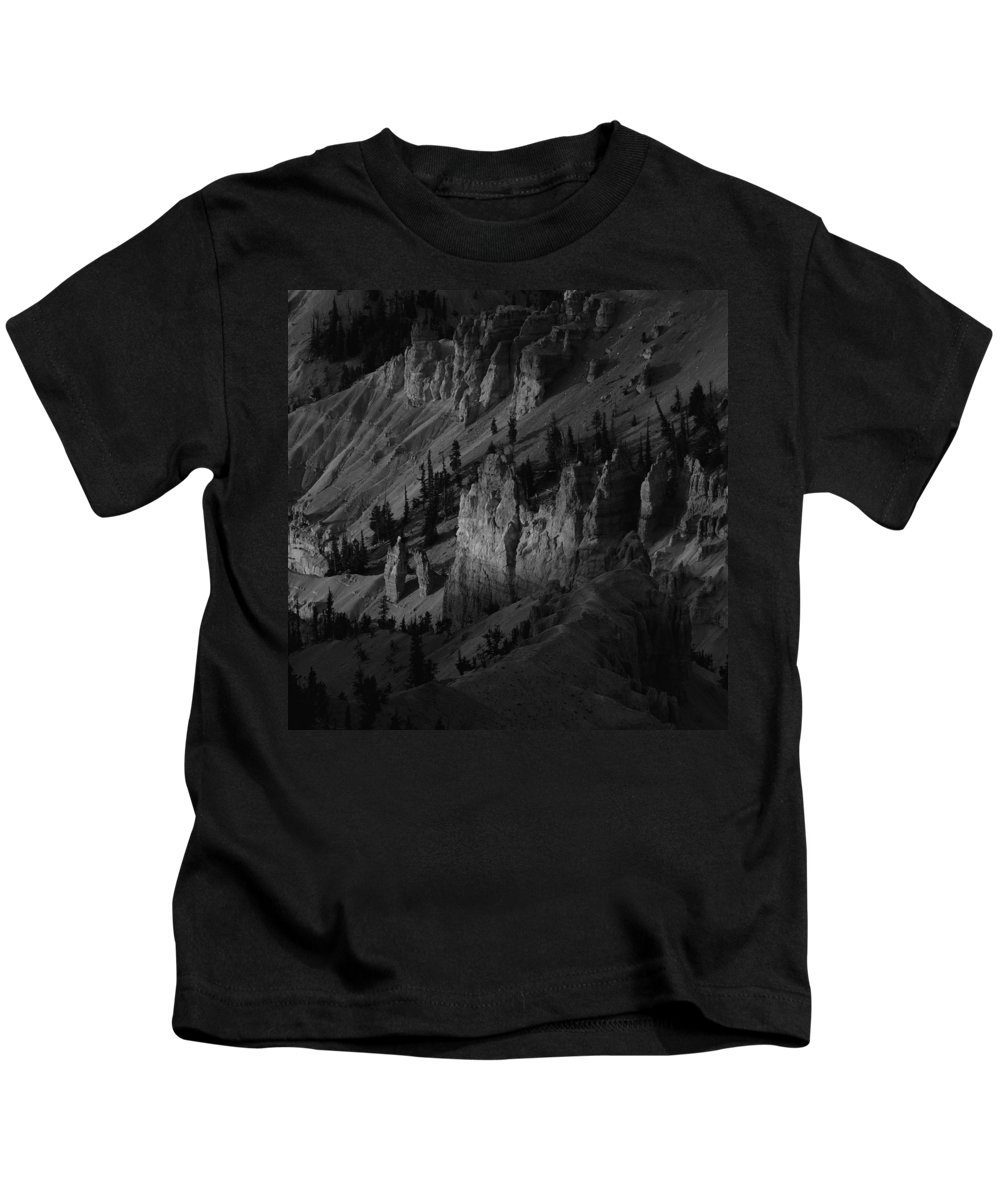 Adventure Kids T-Shirt featuring the photograph Brycecanyon 10 by Ingrid Smith-Johnsen