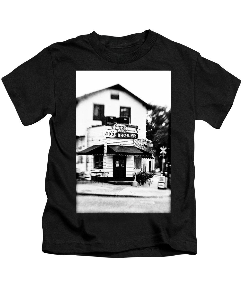 Black&white Kids T-Shirt featuring the photograph Buds by Scott Pellegrin