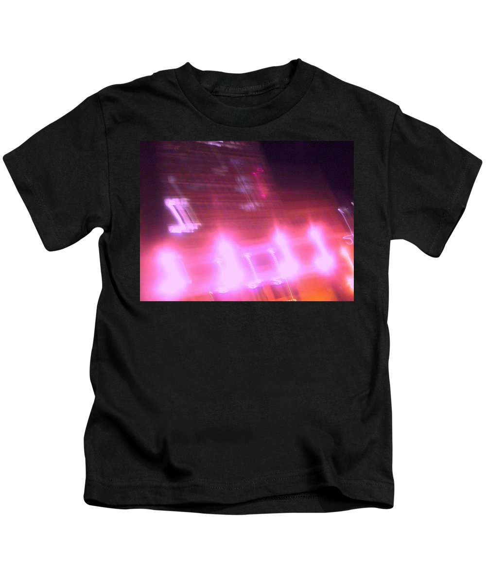 Photograph Kids T-Shirt featuring the photograph Building by Thomas Valentine