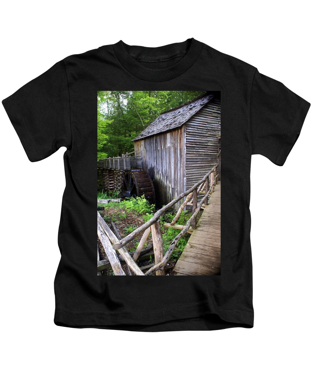Cable Mill Kids T-Shirt featuring the photograph Cable Mill 3 by Marty Koch