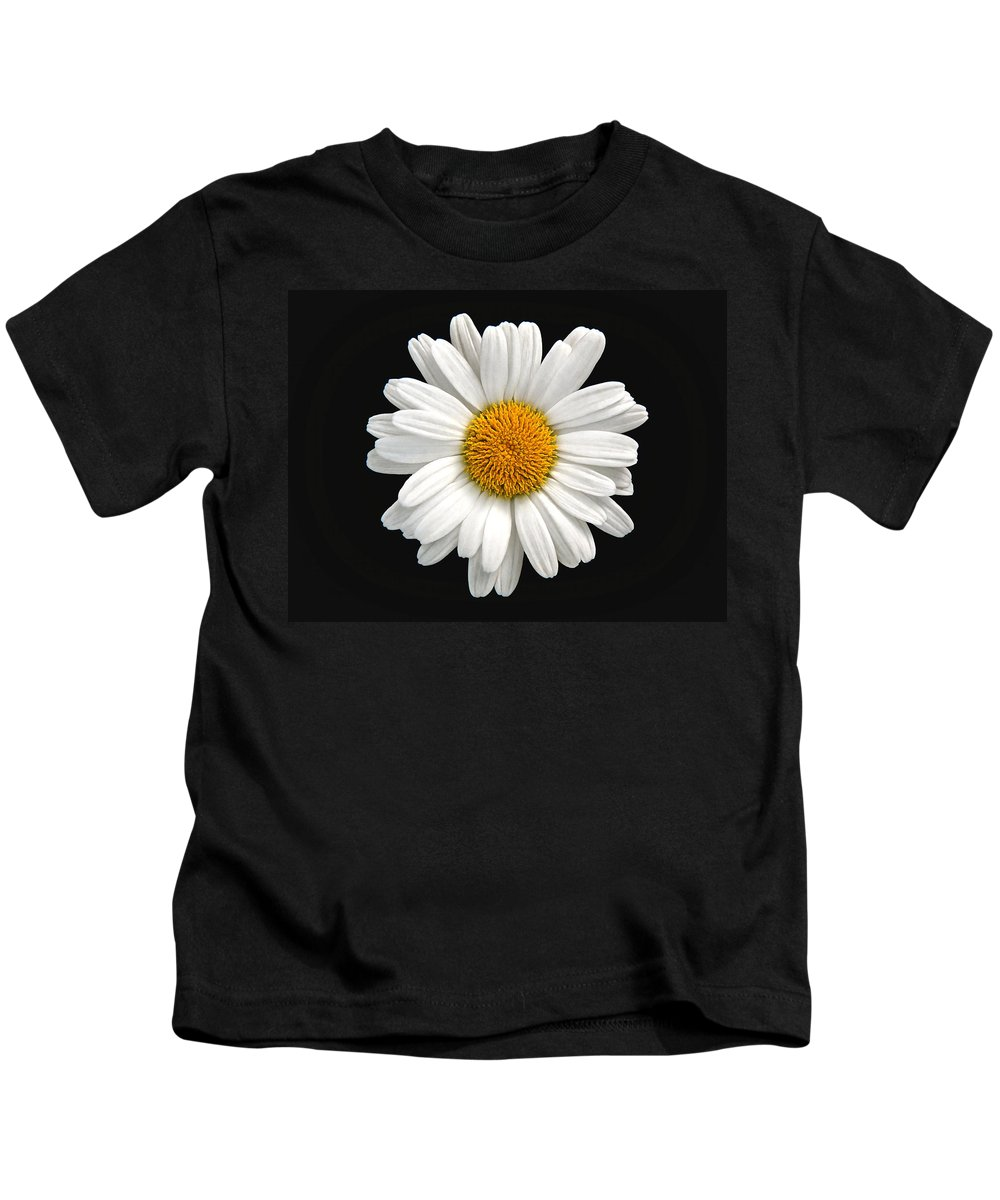 Camomile Kids T-Shirt featuring the photograph Camomile by Sergey Lukashin