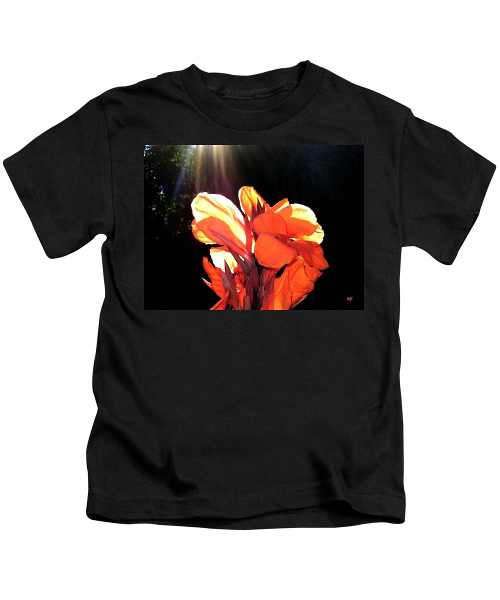Canna Lily Kids T-Shirt featuring the photograph Canna Lily by Will Borden