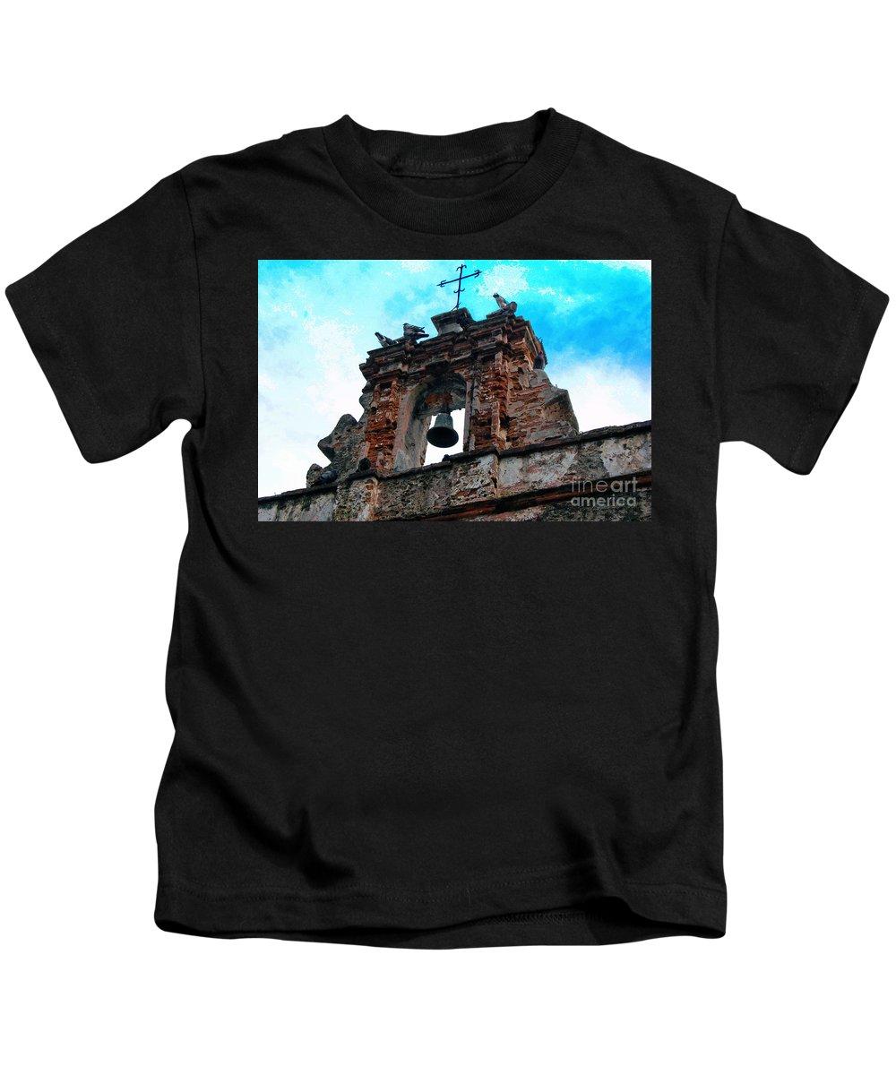 San Juan Kids T-Shirt featuring the photograph Capilla De Cristo  by Debbi Granruth