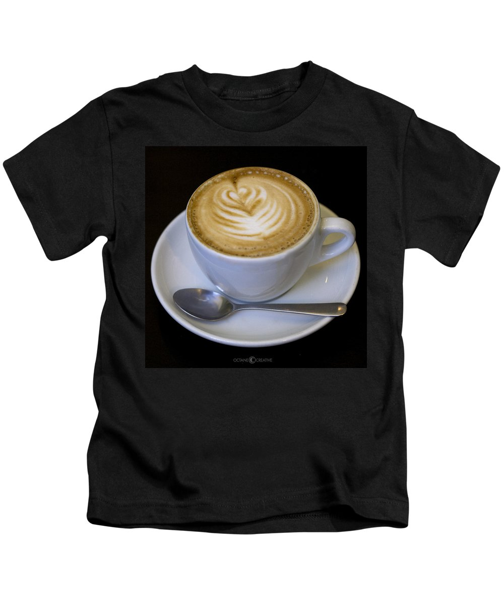 Coffee Kids T-Shirt featuring the photograph Cappuccino by Tim Nyberg