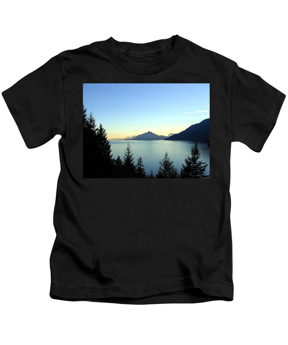 Howe Sound Kids T-Shirt featuring the photograph Captivating Howe Sound by Will Borden