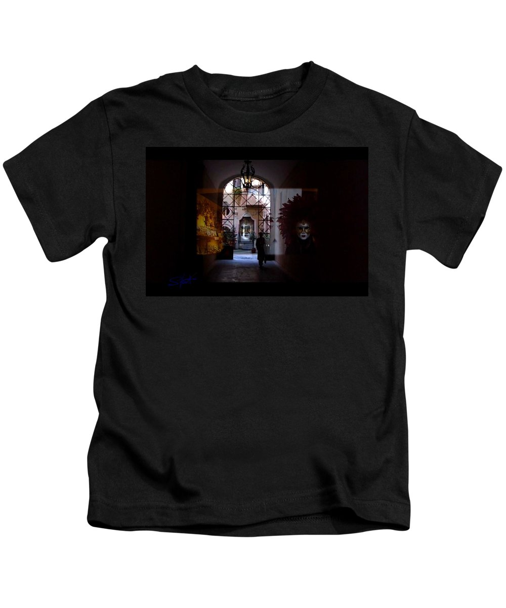 Dream Kids T-Shirt featuring the photograph Carnival by Charles Stuart