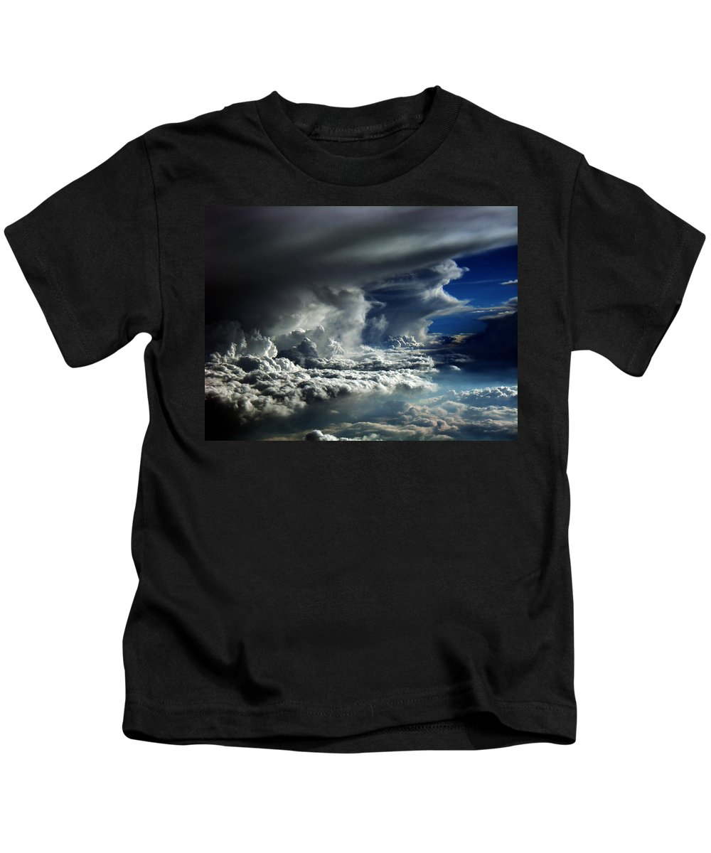 Aviation Art Kids T-Shirt featuring the photograph Cb2.085 by Strato ThreeSIXTYFive